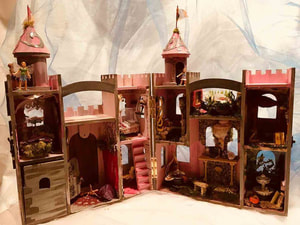 The Fairies Chamber: Enchanted Fairy Castle interior